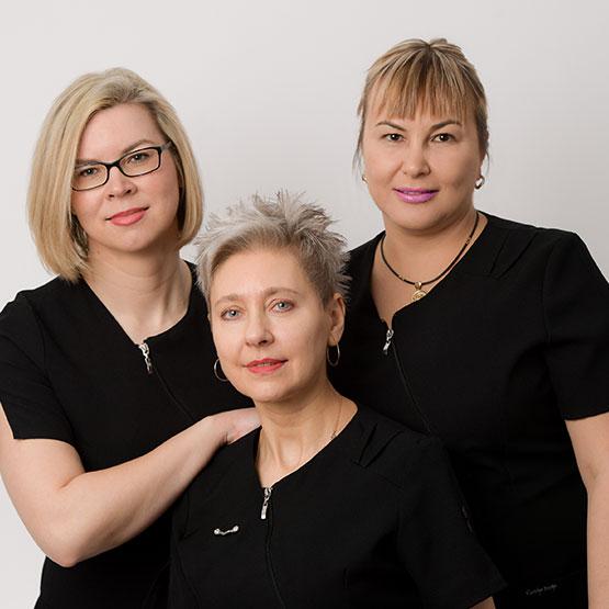 A superstar team of caregivers